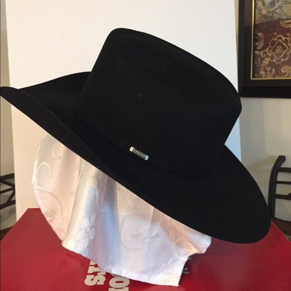 469e0ebcb5d26 ... Stetson 4X Beaver Cowboy Hat. M 5c4e77b4951996704b148d09